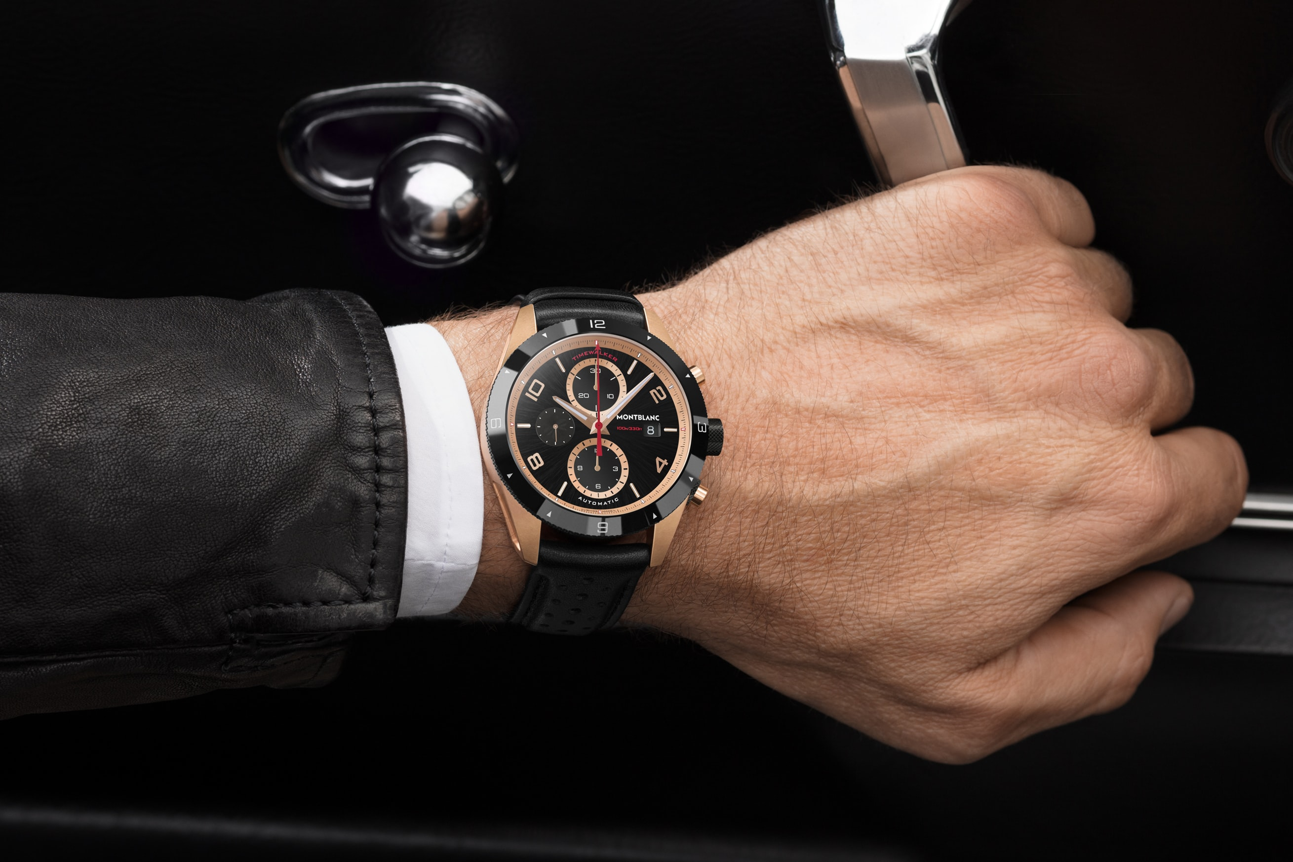 Timewalker Chronograph red gold lifestyle dispatches: with montblanc at the petrolhead's paradise that is the goodwood festival of speed Dispatches: With Montblanc At The Petrolhead's Paradise That Is The Goodwood Festival Of Speed 117051