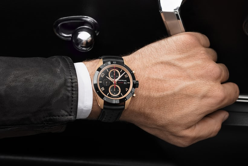 Timewalker Chronograph red gold lifestyle