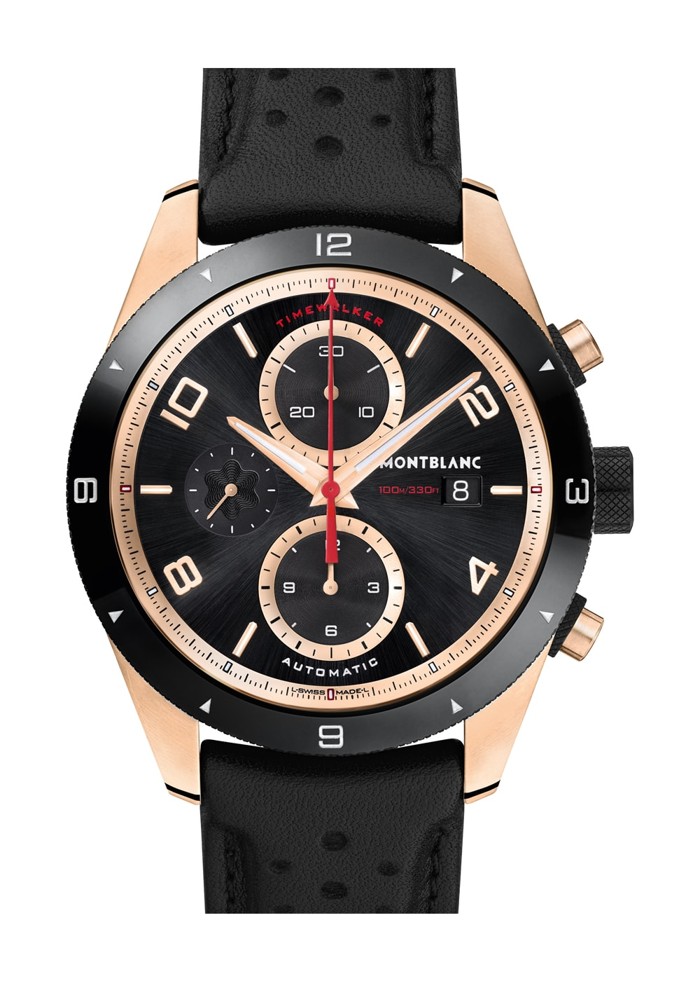 Timewalker Chronograph red gold closeup dispatches: with montblanc at the petrolhead's paradise that is the goodwood festival of speed Dispatches: With Montblanc At The Petrolhead's Paradise That Is The Goodwood Festival Of Speed goldtimewalkerchrono