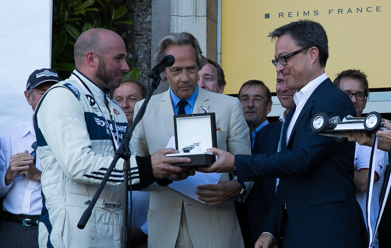 Awards presentation Hillclimb 2017 Goodwood FOS dispatches: with montblanc at the petrolhead's paradise that is the goodwood festival of speed Dispatches: With Montblanc At The Petrolhead's Paradise That Is The Goodwood Festival Of Speed Winner Justin Law Lord March Nicolas Baretzki 3