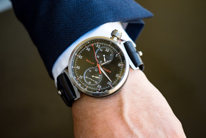 Montblanc Rally Timer