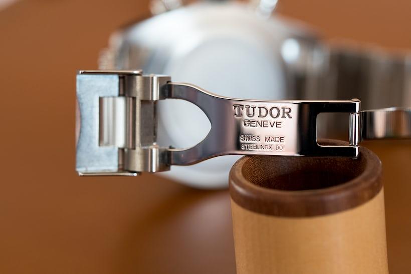 Tudor Black Bay Chronograph clasp open