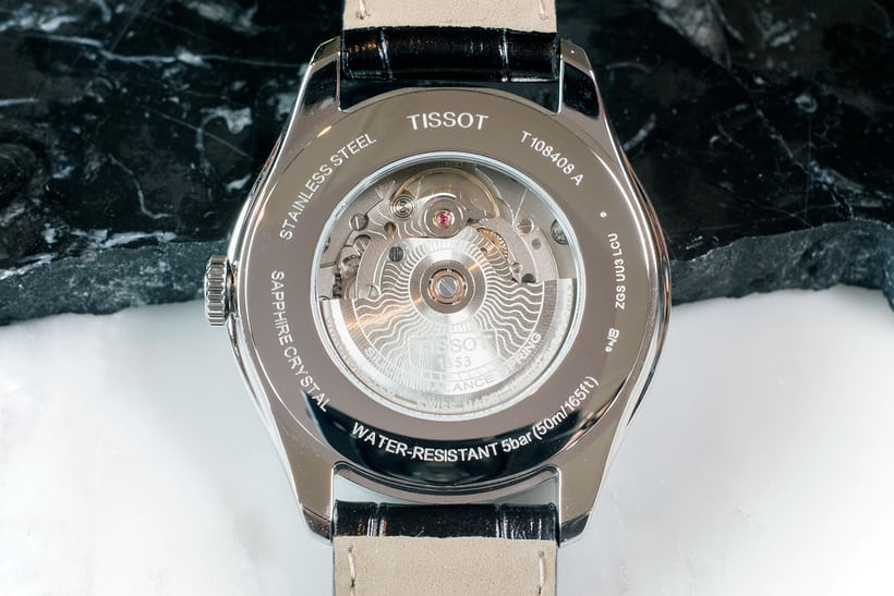 tissot powermatic 80 ballade movement silicon