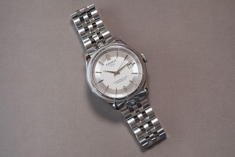 tissot powermatic 80 ballade silver dial bracelet