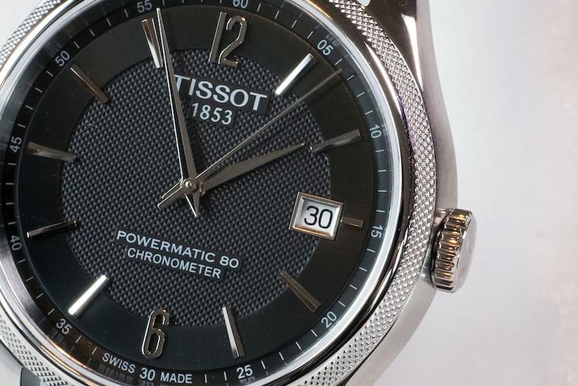 tissot powermatic 80 ballade dial details