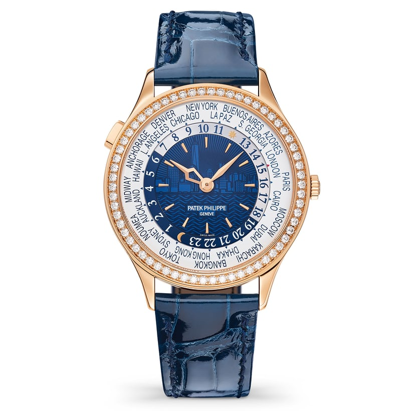 patek philippe world time 7130