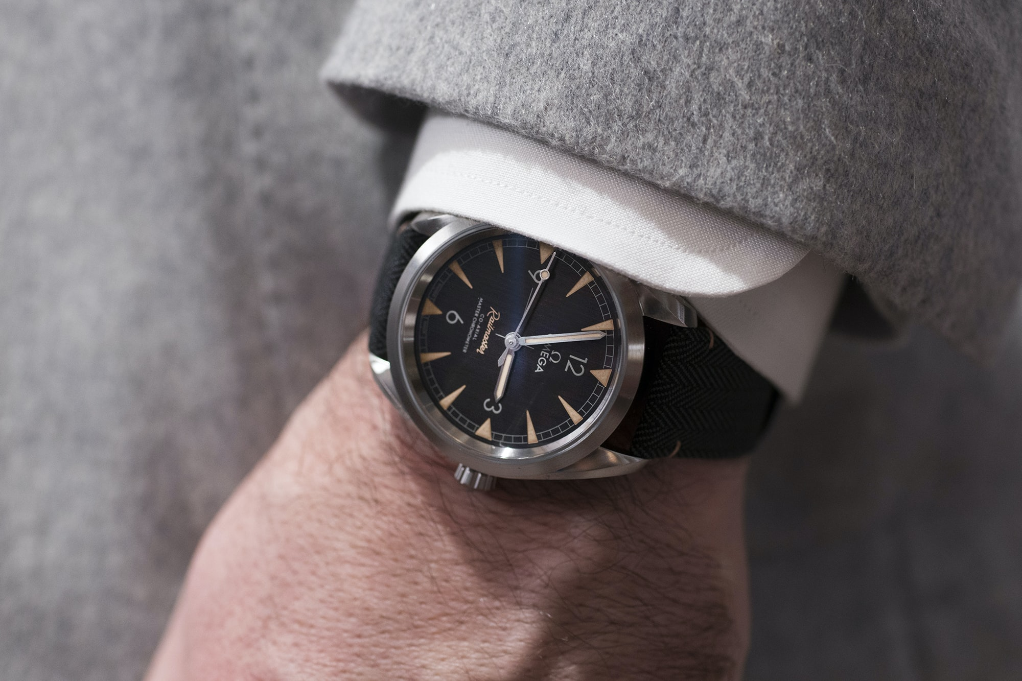 Omega Railmaster Collection 2017  Editorial: Five Watches Under $6,000 That Show Why Now Is A Good Time To Be A Watch Enthusiast railmaster