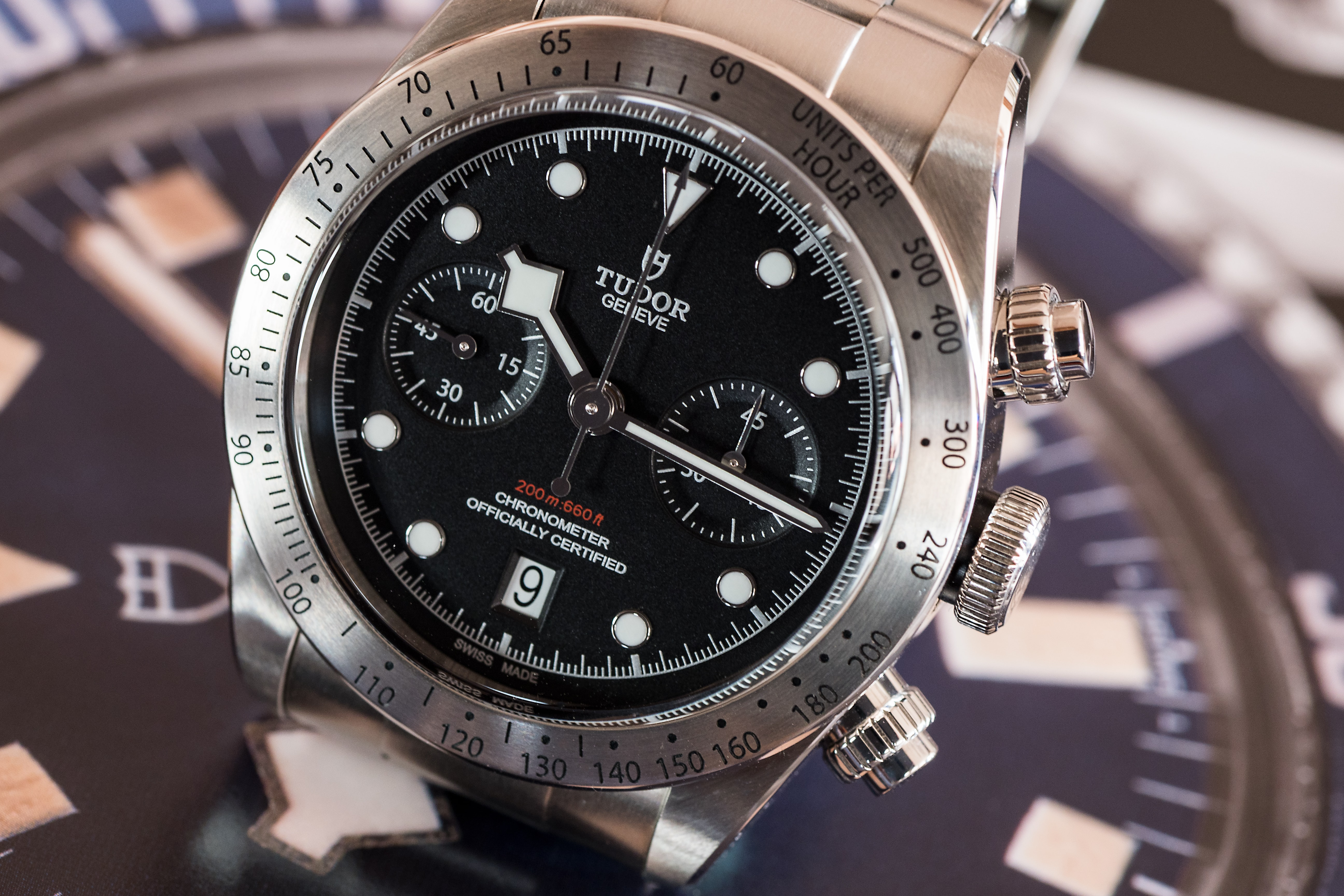 Tudor Black Bay Chronograph  Editorial: Five Watches Under $6,000 That Show Why Now Is A Good Time To Be A Watch Enthusiast bb chrono