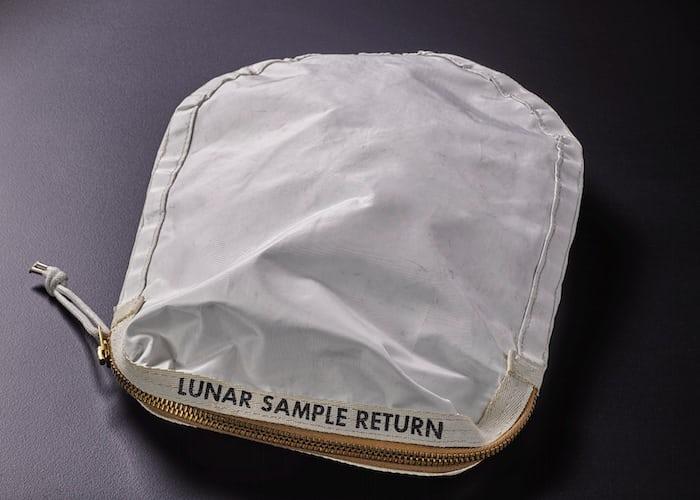 Apollo 11 Contingency Lunar Sample Return Bag