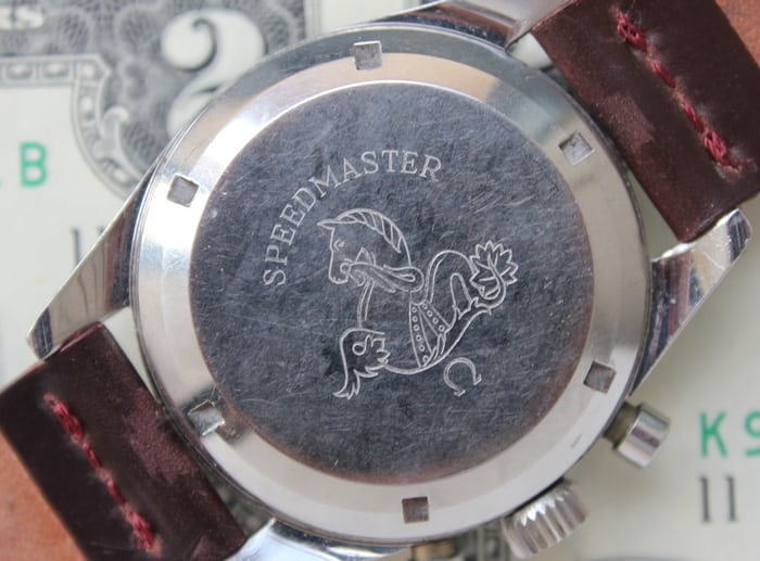 Omega Speedmaster 105.003 caseback