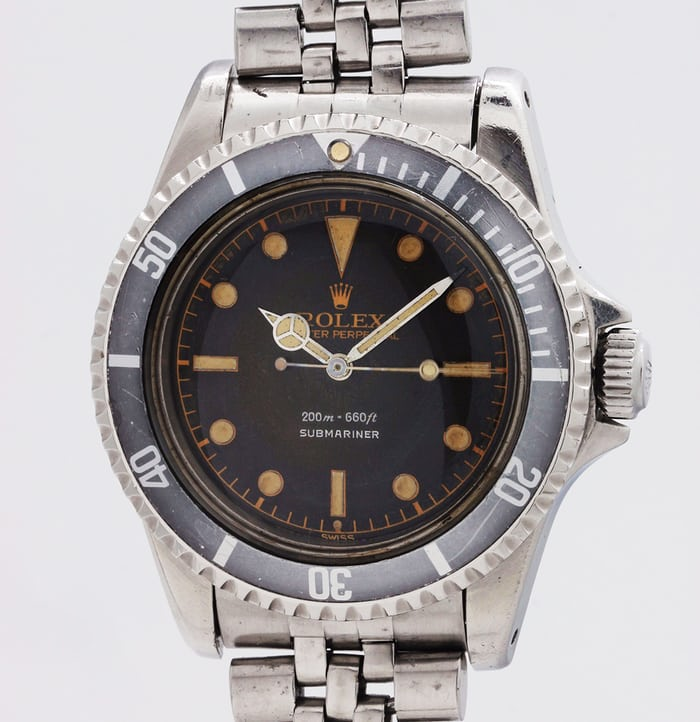 Rolex Submariner Reference 5513 Silver
