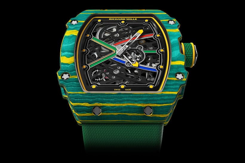 The Richard Mille RM67-02 Sprint.
