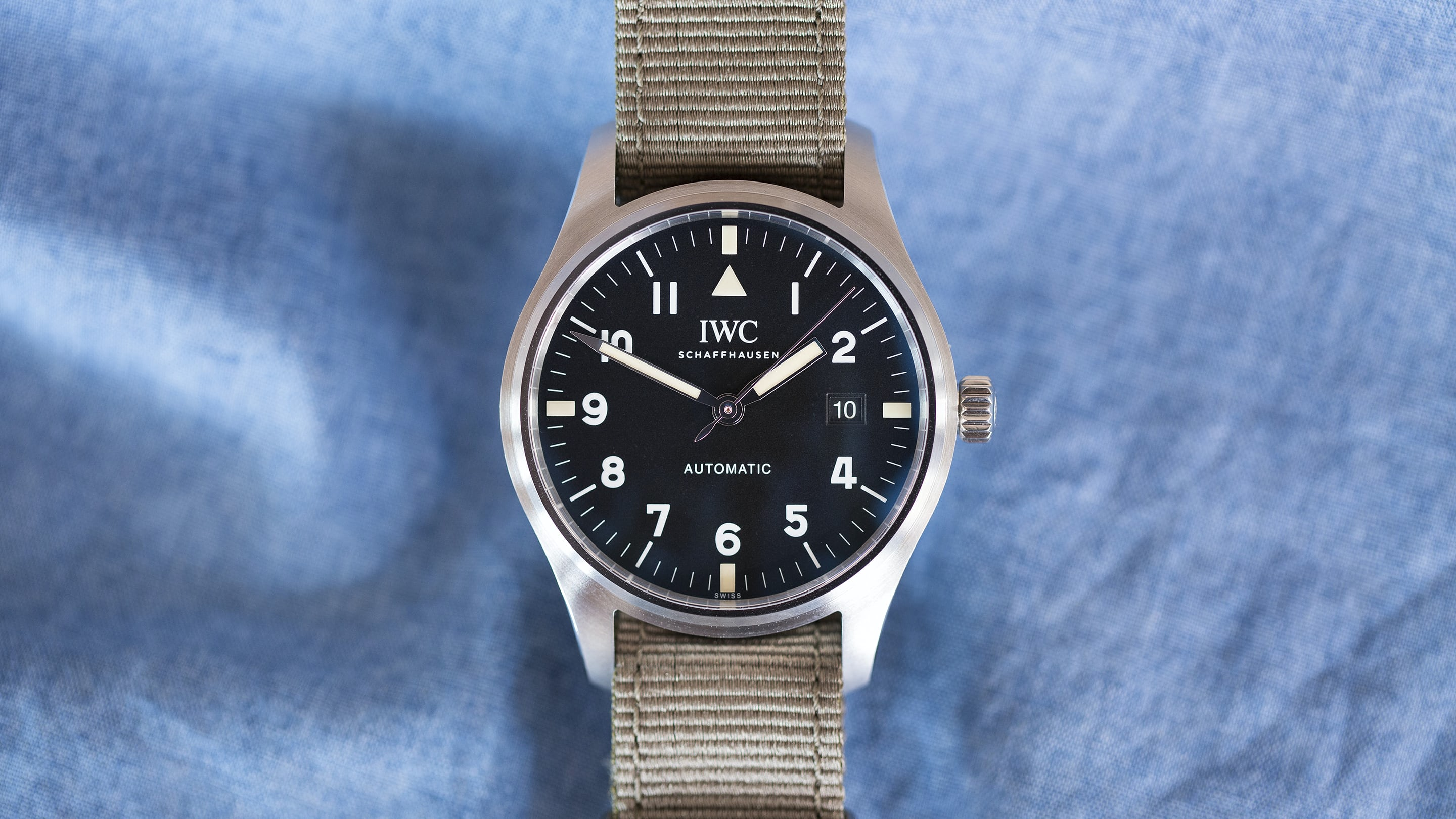 0eff8ba145af Hands-On  The IWC Pilot s Watch Tribute To Mark XI - HODINKEE