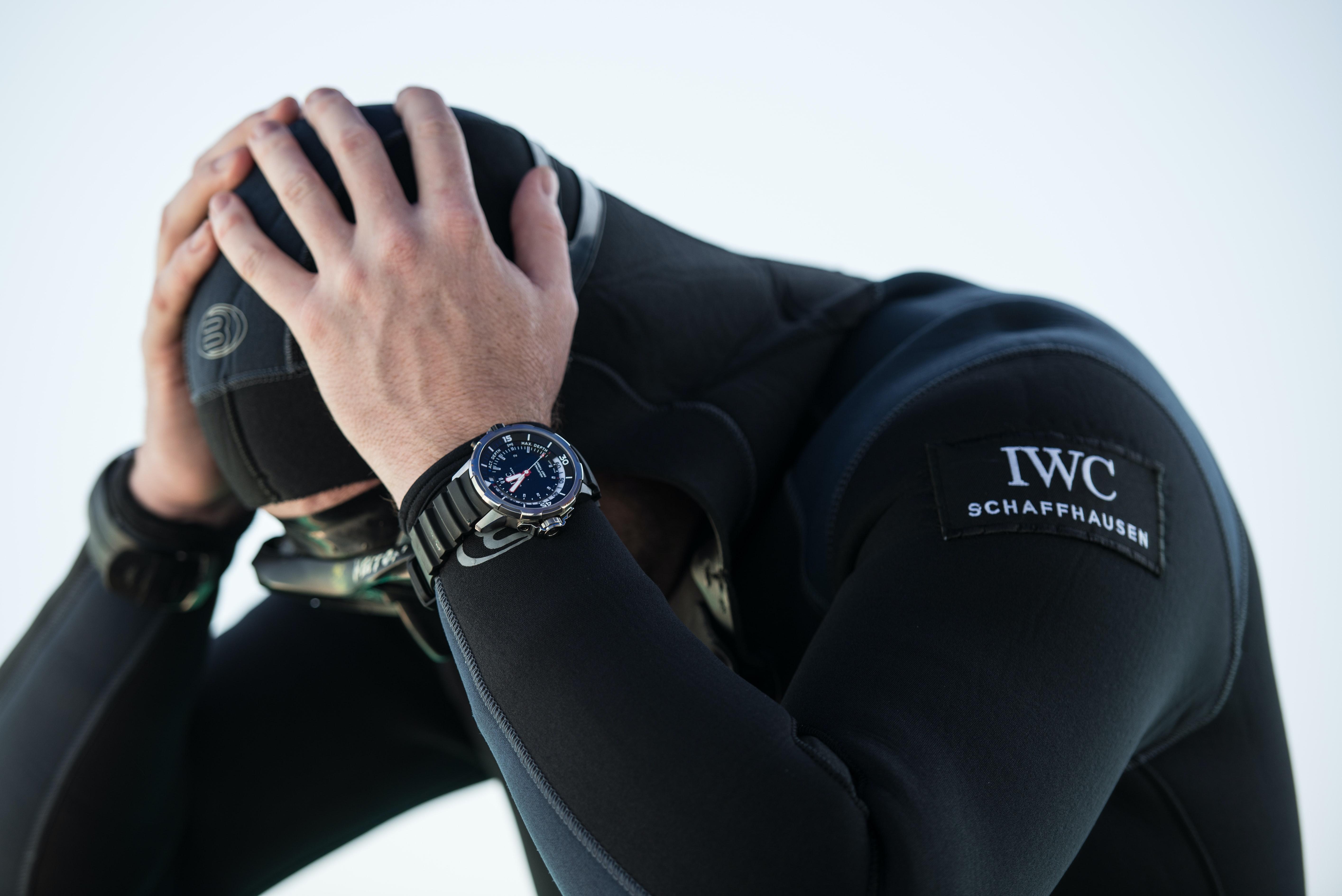 IWC Aquatimer Deep Three.  In-Depth: Seven Dive Watch Myths Deep-Sixed ventedrubber IWC