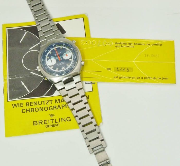 Breitling Transocean 2119 papers