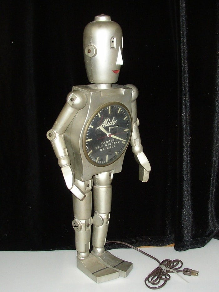 Mido Robot clock