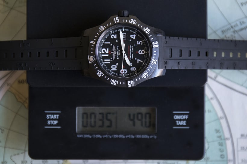 Breitling colt skyracer weight