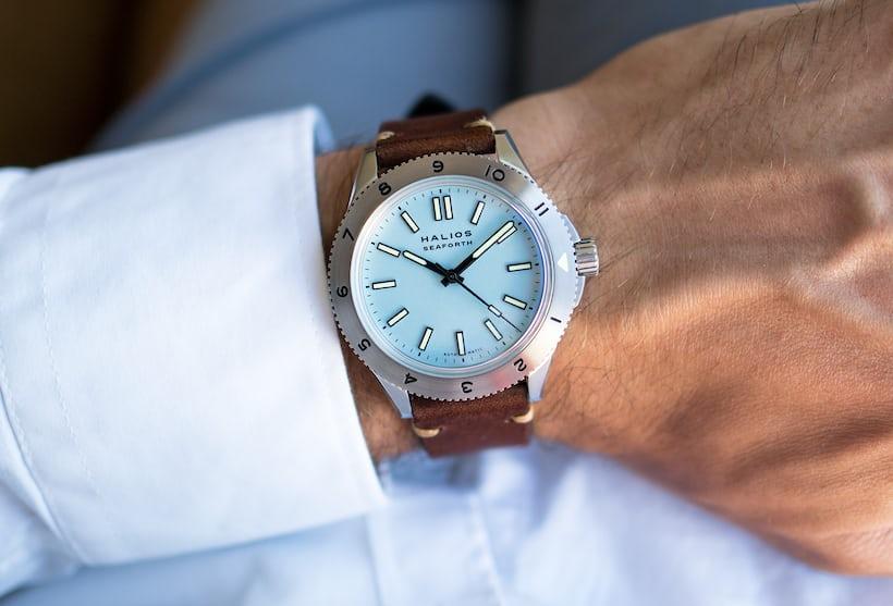 halios seaforth dive watch wristshot