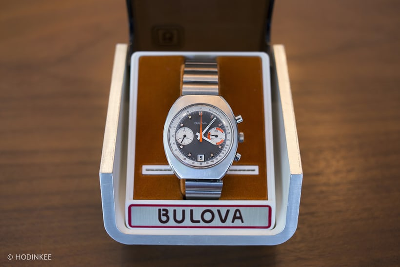 bulova chronograph 1970s box