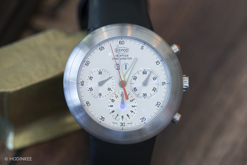 ikepod hemipode chronograph marc newson