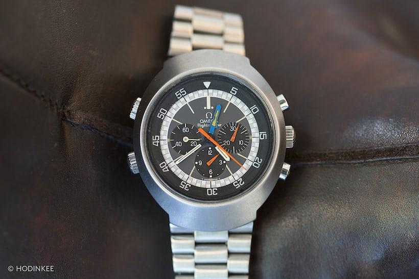 omega flightmaster chronograph john edelman