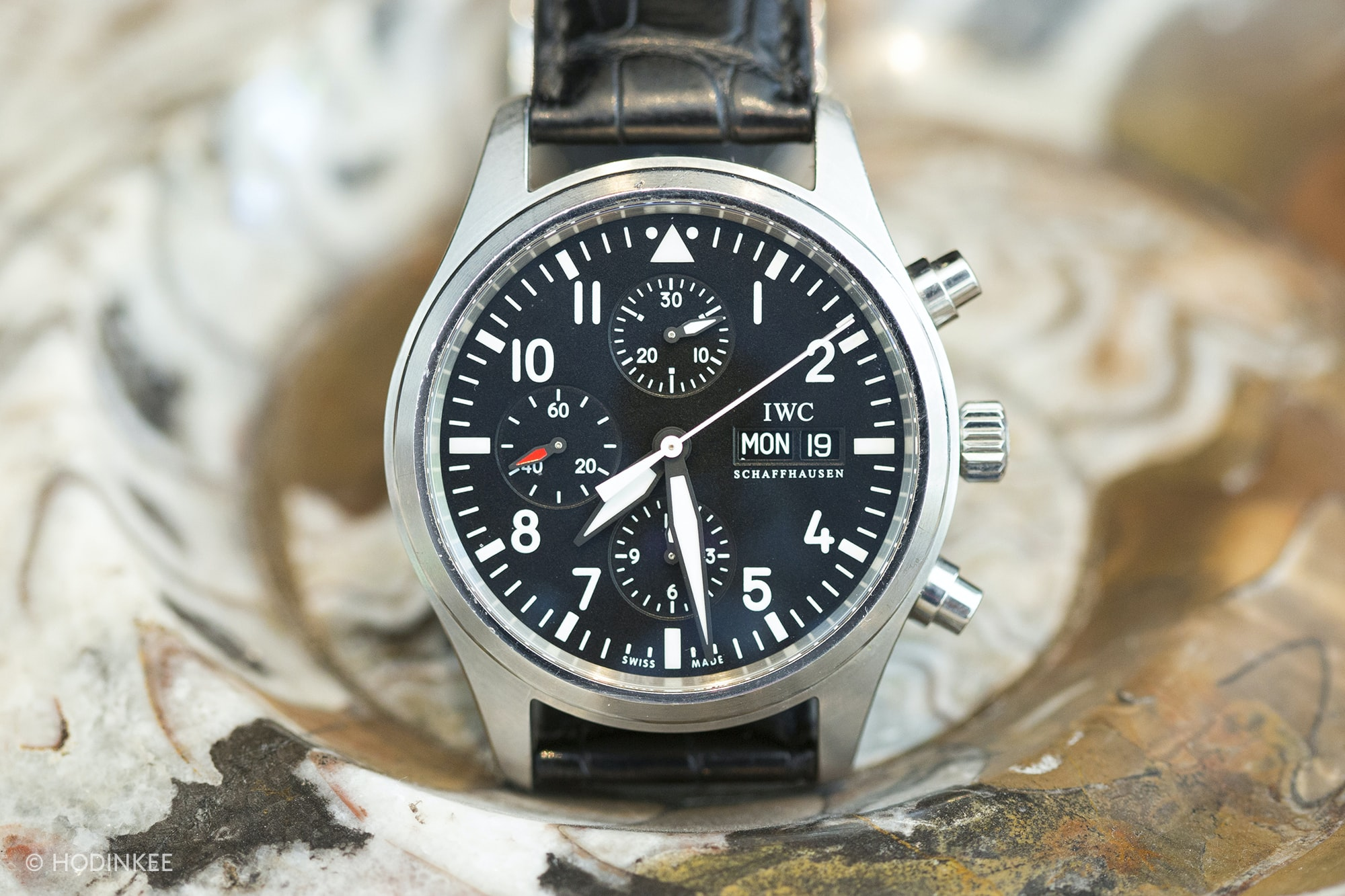 IWC Pilot's Chronograph Ref. 377709 Talking Watches: With John Edelman Talking Watches: With John Edelman  3H0A2725 copy