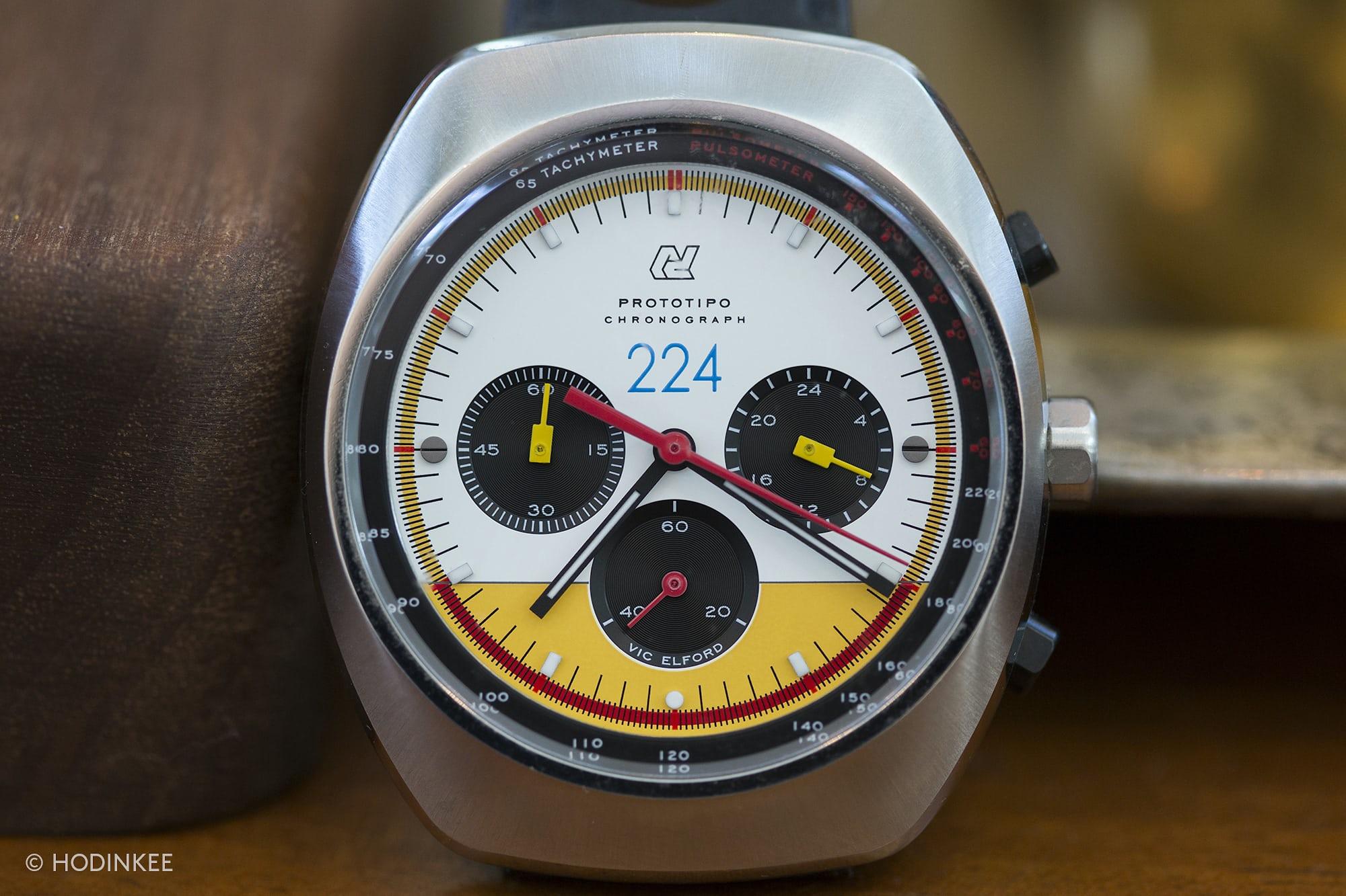 Autodromo Prototipo Vic Elford Edition Talking Watches: With John Edelman Talking Watches: With John Edelman  3H0A2750 copy