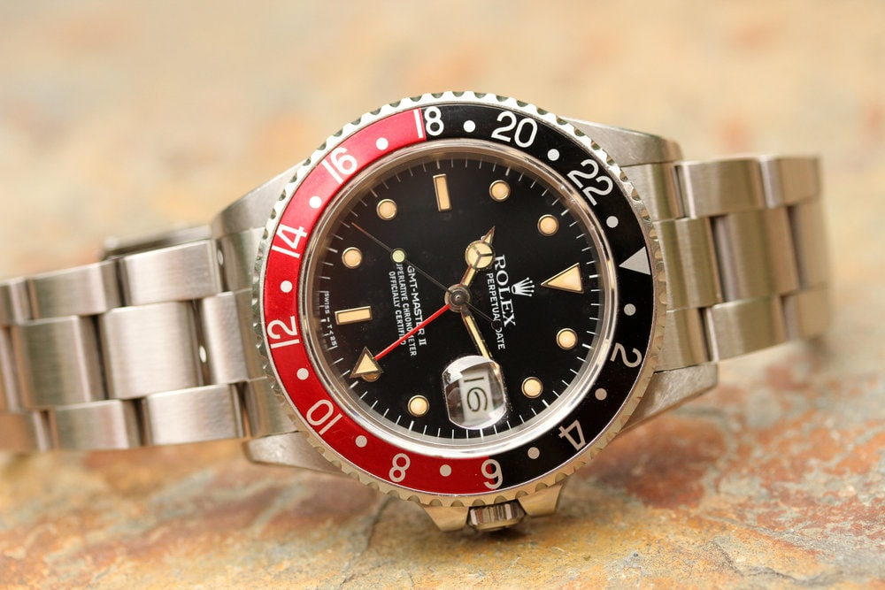 Rolex GMT-Master II Reference 16760 Bring a Loupe: A Full Set Rolex GMT-Master II Ref. 16760, An IWC Ingenieur Ref. 866, A Square Vacheron Constantin 222, And More Bring a Loupe: A Full Set Rolex GMT-Master II Ref. 16760, An IWC Ingenieur Ref. 866, A Square Vacheron Constantin 222, And More Rolex GMT
