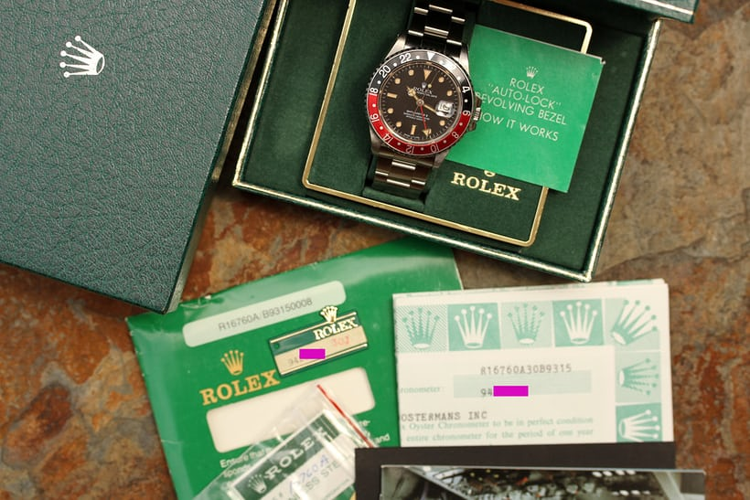 "Rolex GMT-Master II ""Fat Lady"