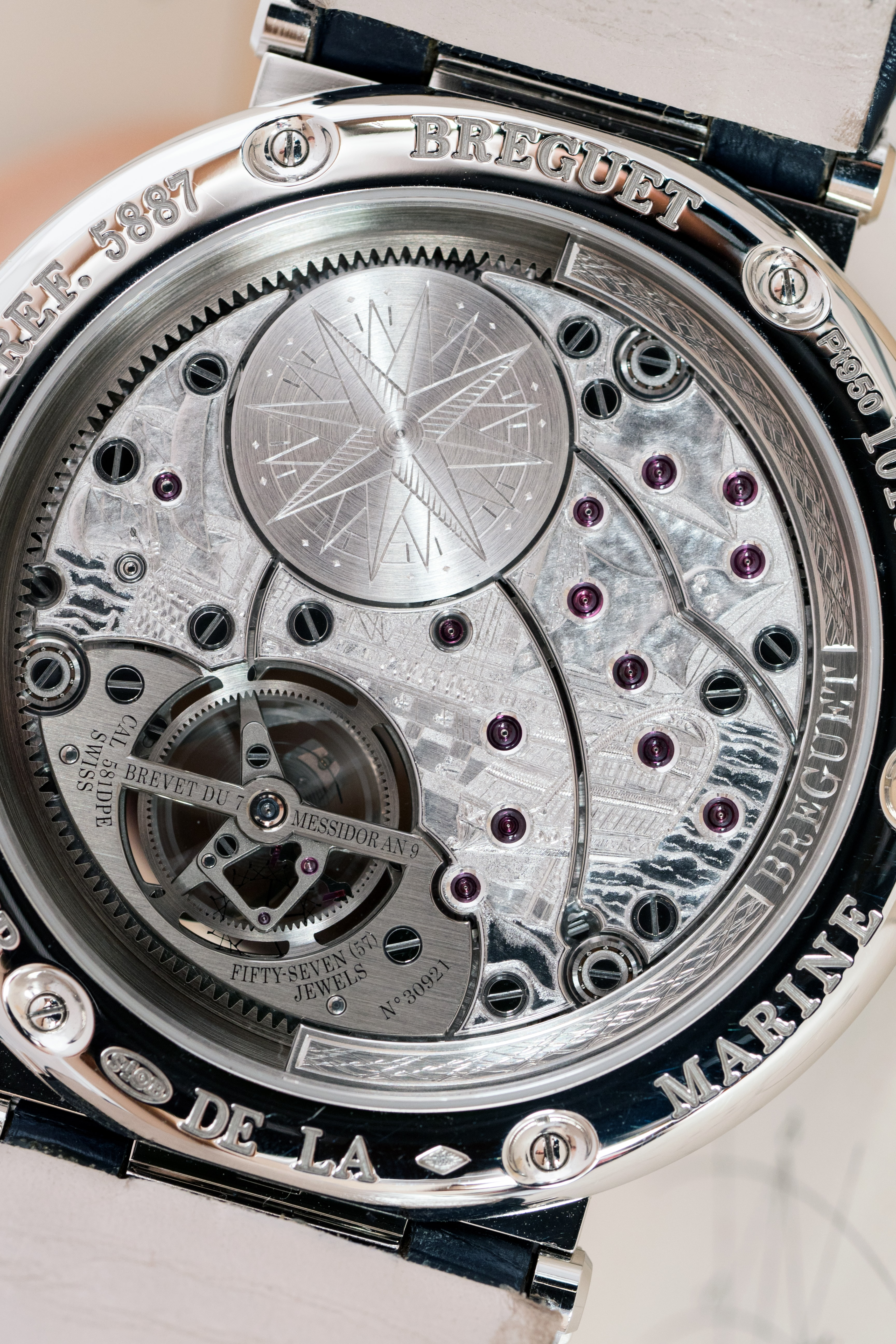 Breguet caliber 581DPE engraving Introducing: The Breguet Marine quation Marchante 5887 Introducing: The Breguet Marine quation Marchante 5887 P5241048 1