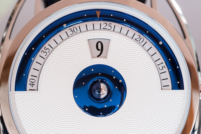 De Bethune DB28 Digitale dial