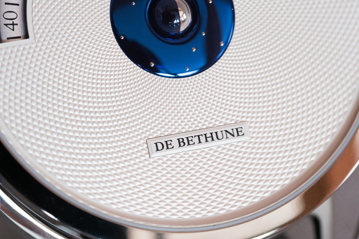 De Bethune DB28 Digitale logo
