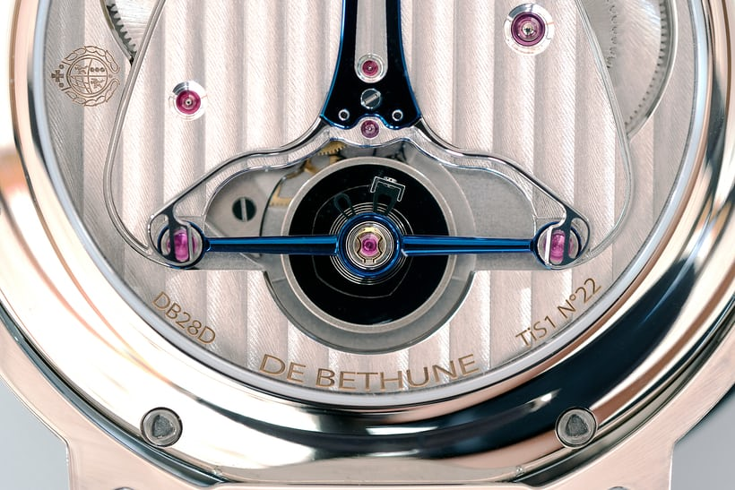 De Bethune DB28 Digitale balance and balance bridge