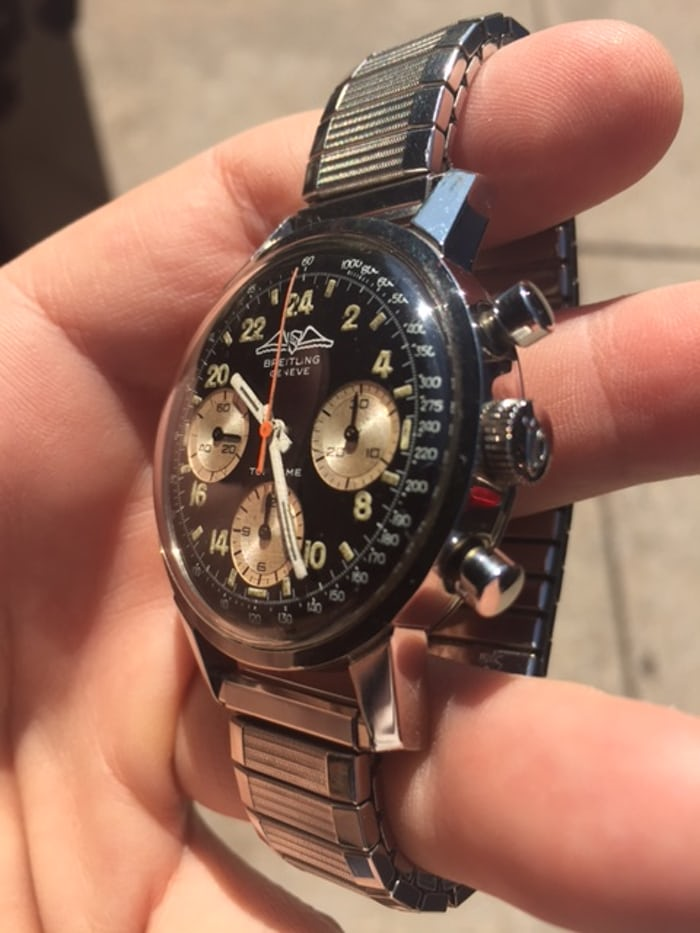 Breitling Top Time Reference 824 case side