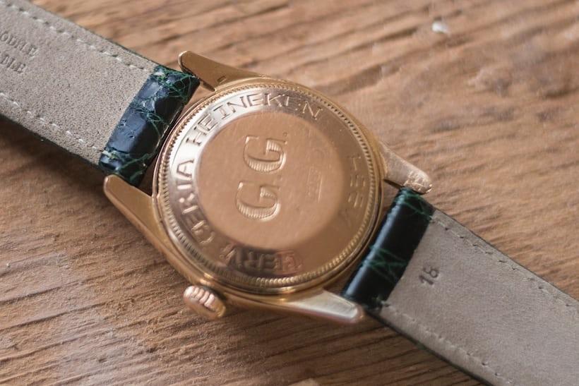 Rolex engravings