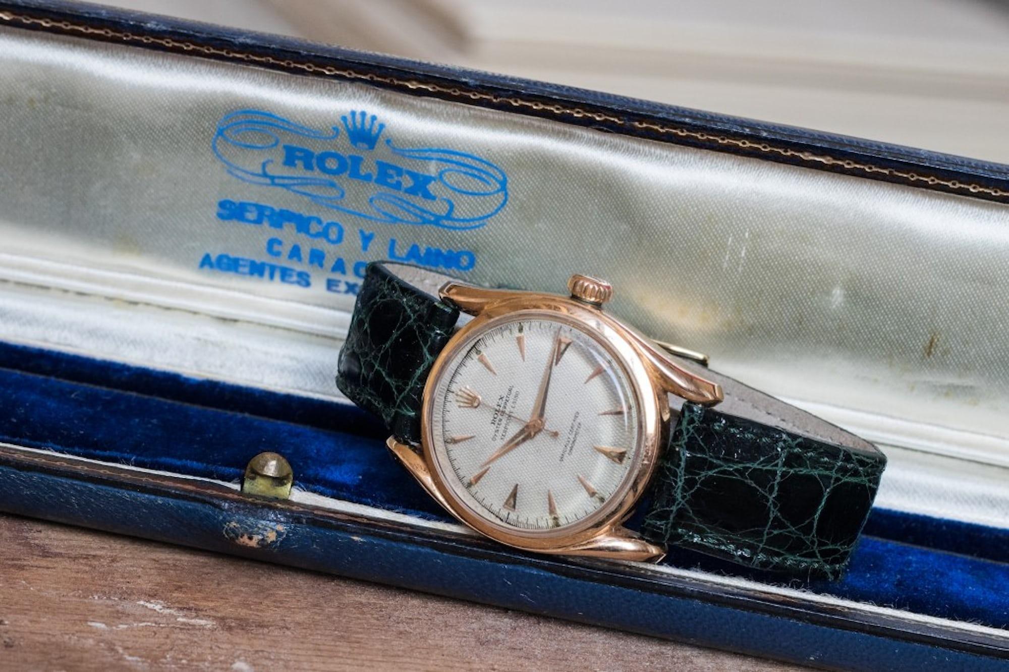 Rolex Serpico box.