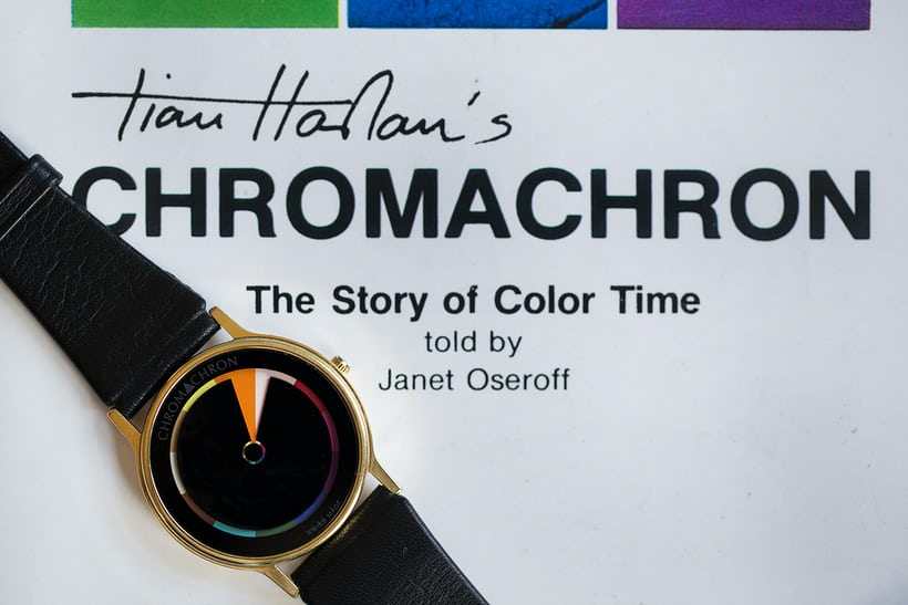 Chromachron watch