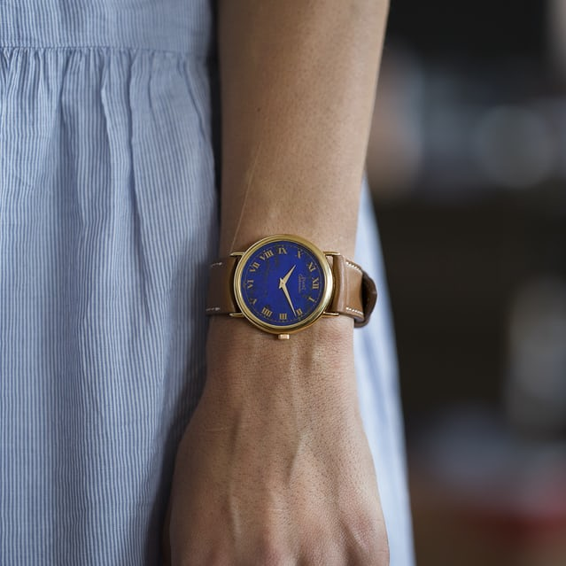 1978 Piaget Reference 12342 With Lapis Lazuli Dial