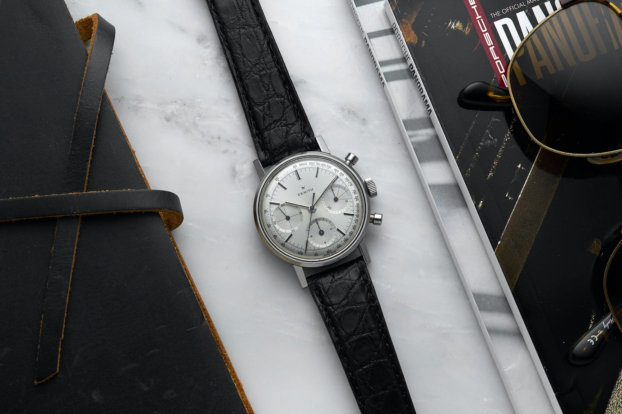 <p>1960s Zenith Chronograph Reference A273</p>