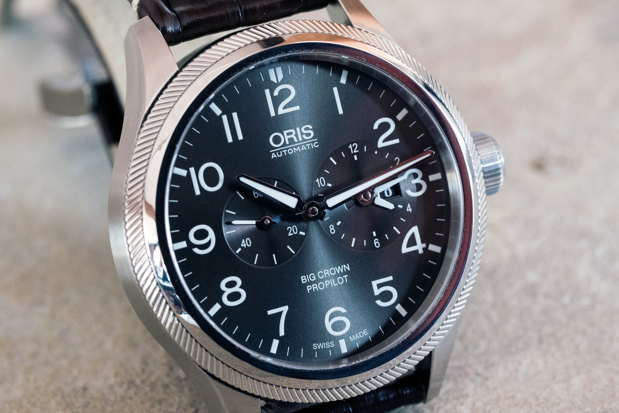Oris Big Crown ProPilot Worldtimer dial