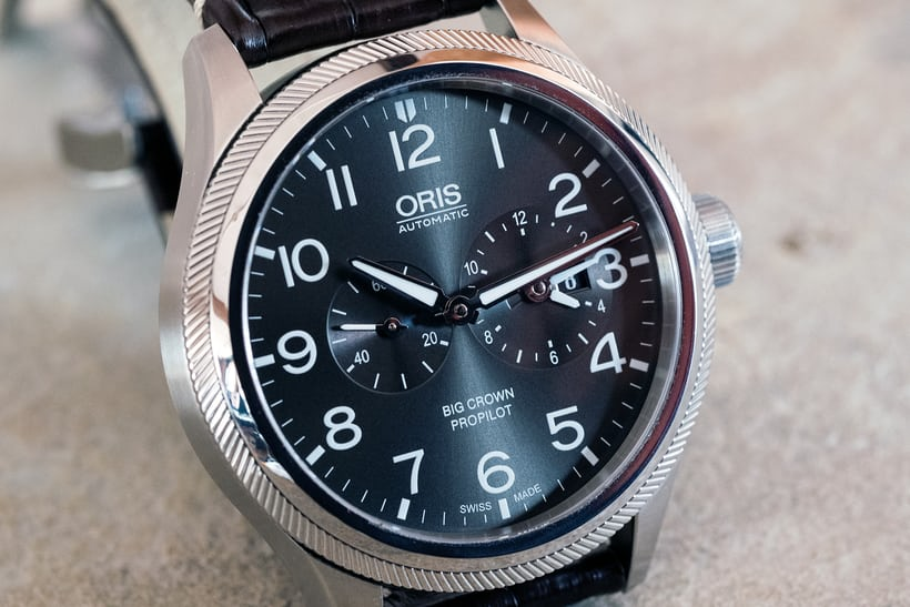 Oris Big Crown ProPilot Worldtimer dial