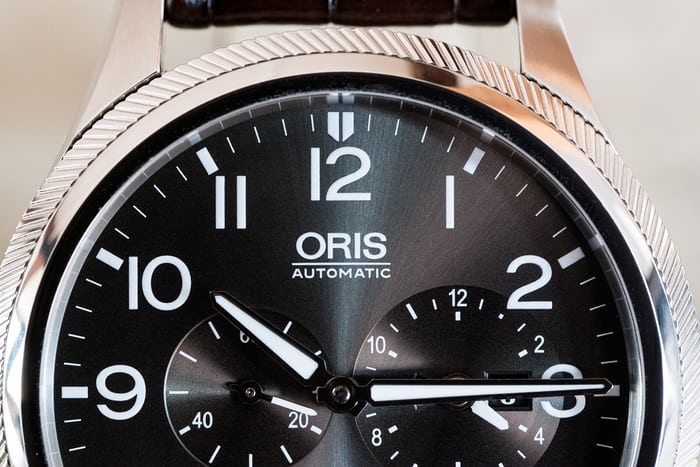 Oris Big Crown ProPilot Worldtimer dial macro