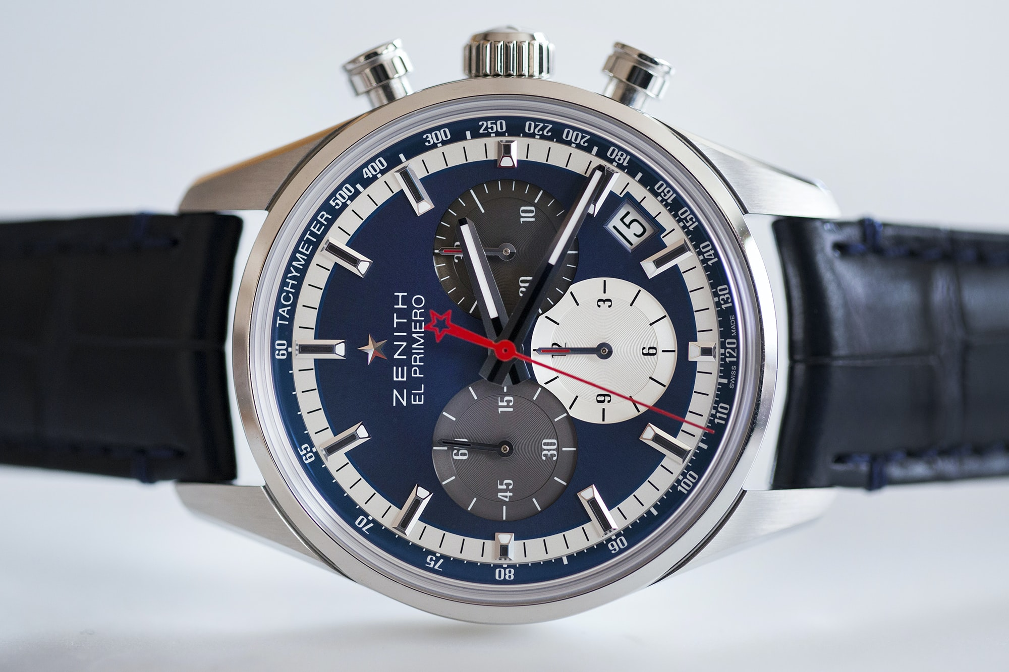 The Zenith El Primero Chronomaster 38mm Hands-On: The Zenith El Primero Chronomaster 38mm Hands-On: The Zenith El Primero Chronomaster 38mm 20010863 copy