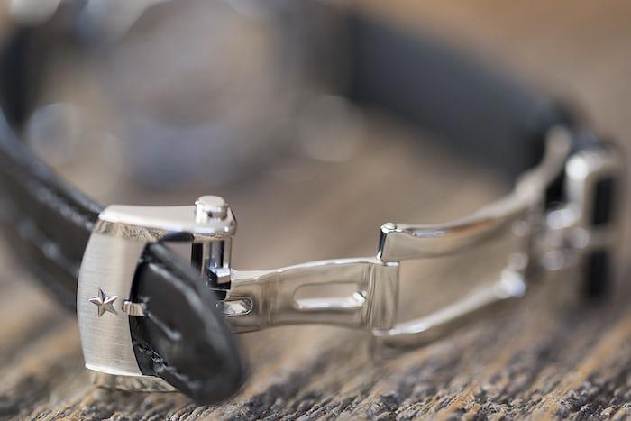 The Zenith El Primero Chronomaster 38mm deployant clasp