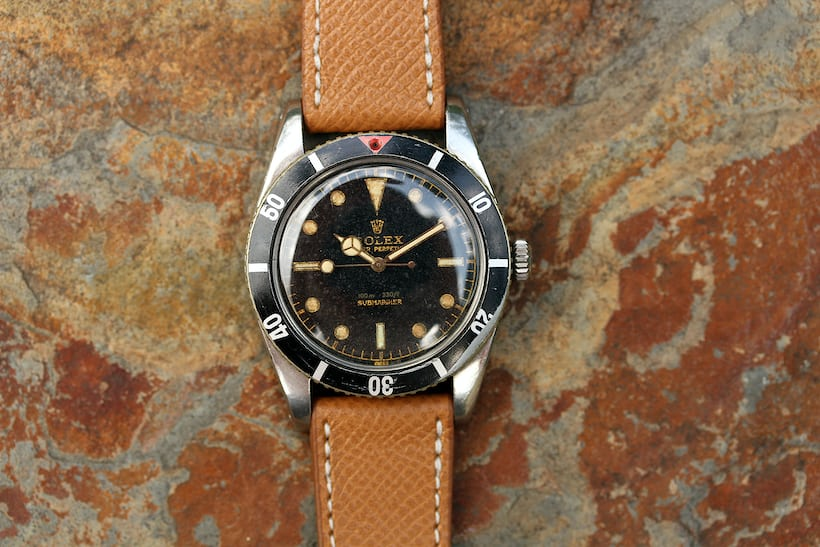 Rolex Submariner Reference 6536