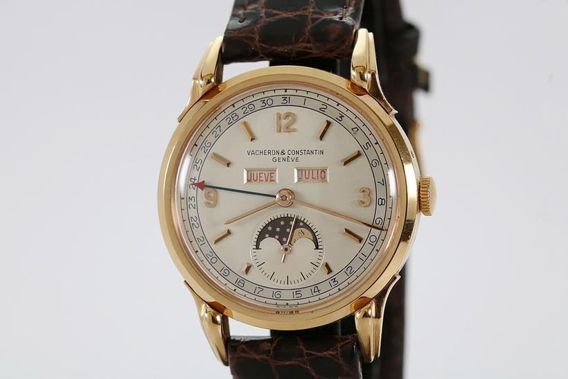 Vacheron Constantin Triple Calendar Moonphase