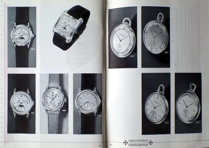 Vacheron Constantin Catalog