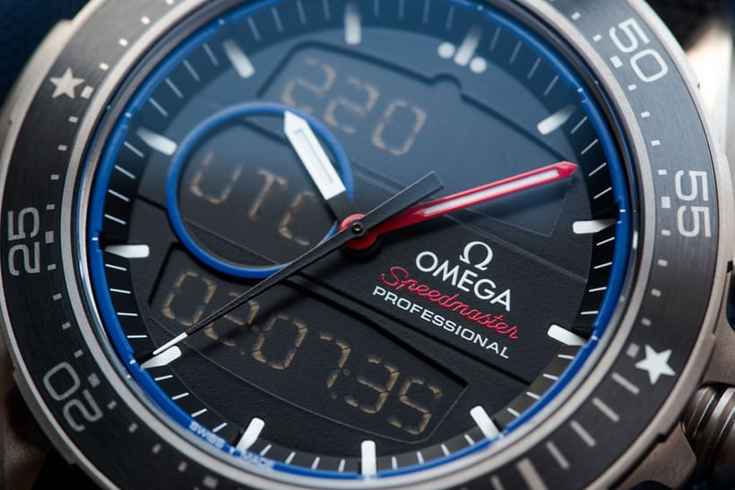 omega x-33 regatta close-up
