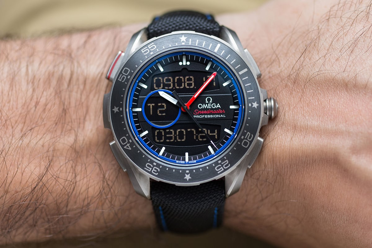 omega x-33 regatta wristshot