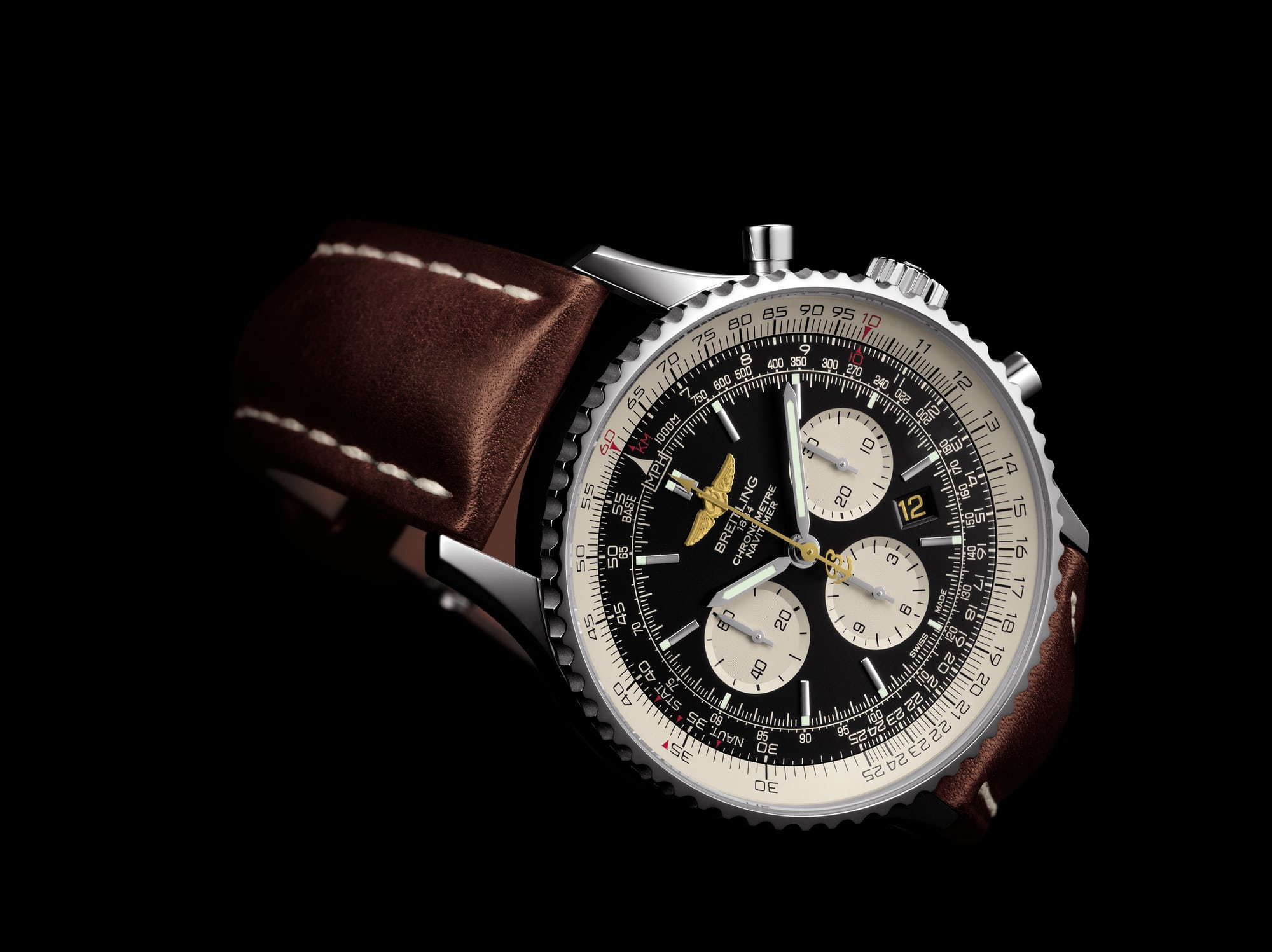 Breitling DC-3 Navitimer 01 limited edition. Dispatches: Breitling's DC-3 To Become Oldest Aircraft Ever To Circle The Earth Dispatches: Breitling's DC-3 To Become Oldest Aircraft Ever To Circle The Earth Breitling DC 3 Limited Edition Navitimer 3
